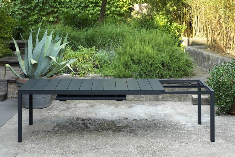 mesa para hosteleria extensible rio alu 210 ambiente