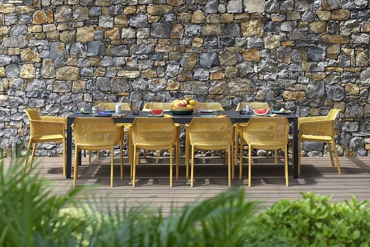 mesa para hosteleria extensible rio alu exterior 2