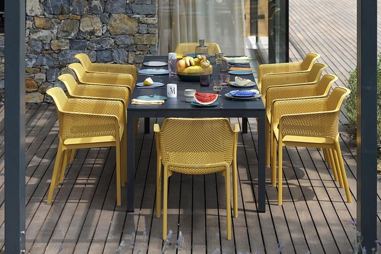 mesa para hosteleria extensible rio alu exterior 3