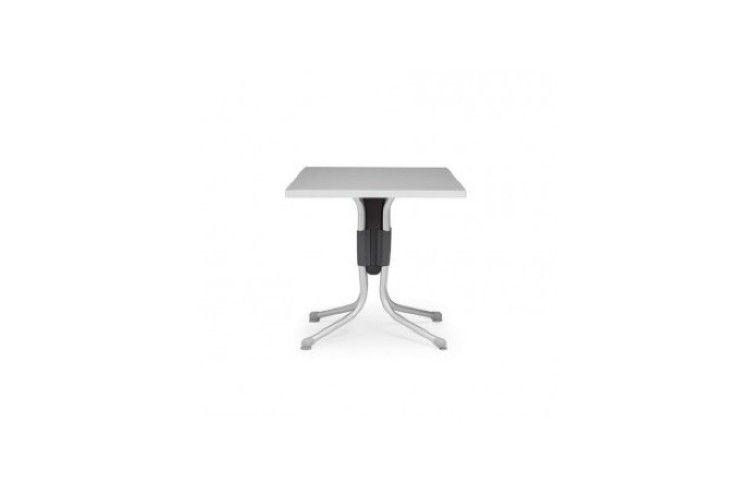 mesa hosteleria Polo gris y antracita aluminio