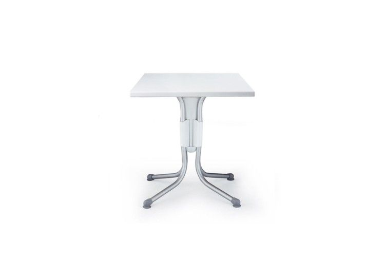 mesa hosteleria Polo blanca aluminio