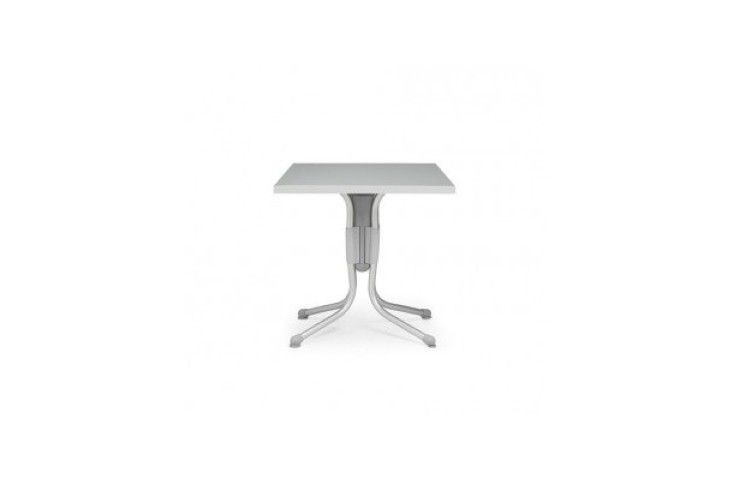 mesa hosteleria Polo gris aluminio