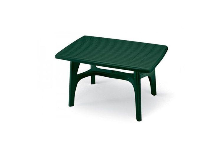 Mesa para exterior hosteleria President verde