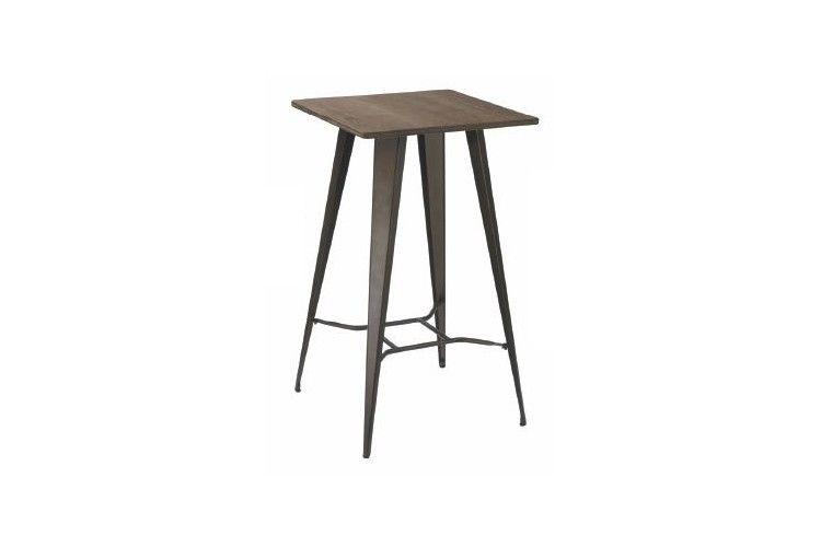 Mesa vintage de hierro Old bronce