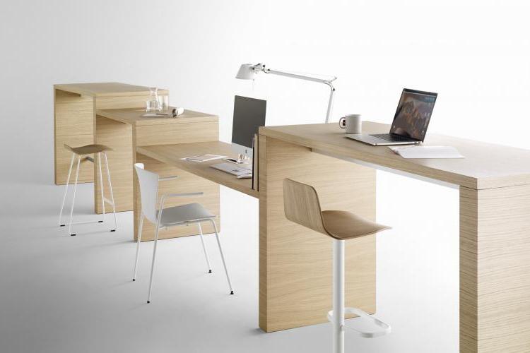 Mesa de diseño Zubi conjunto