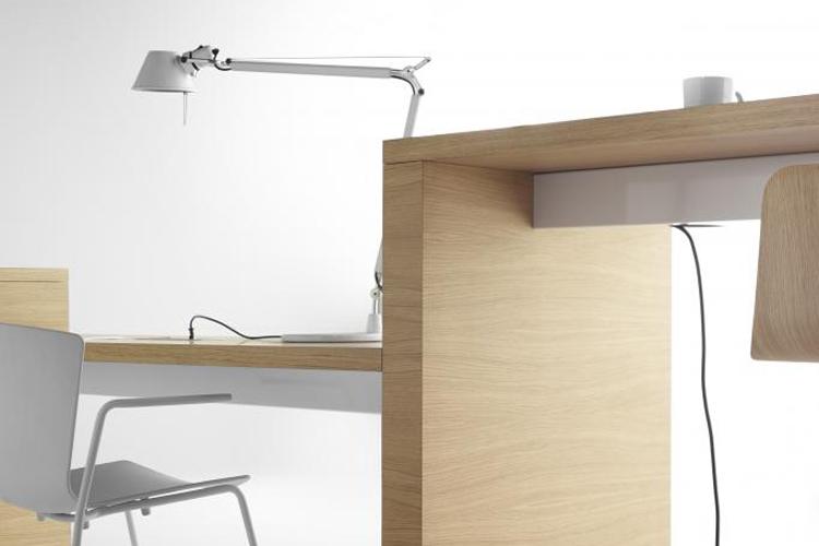 Mesa de diseño Zubi detalle abajo