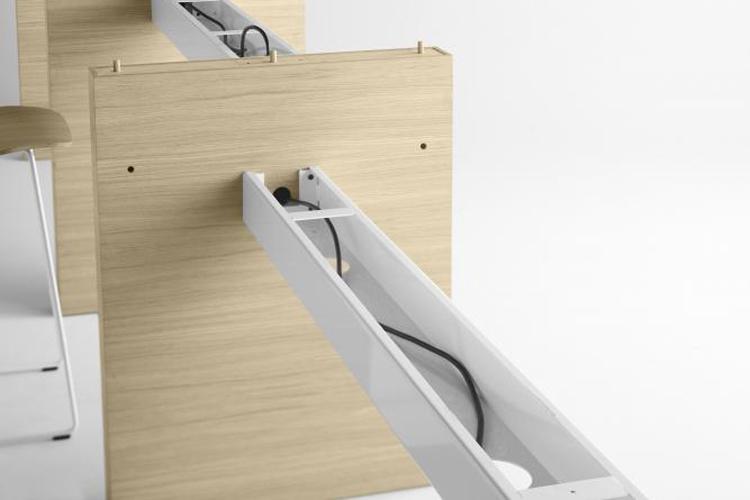 Mesa de diseño Zubi vigas