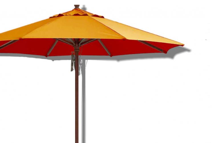 Parasol madera Ø3 m