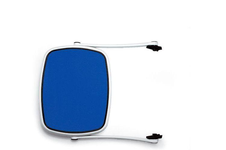 Parasol de tumbona azul