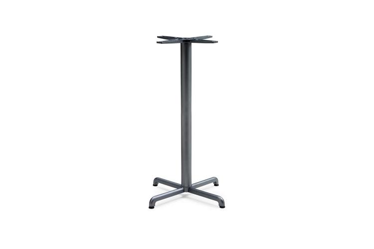 Pie mesa hosteleria aluminio antracita Calice alta