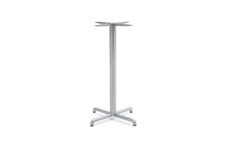Pie mesa hosteleria aluminio plata Calice alta