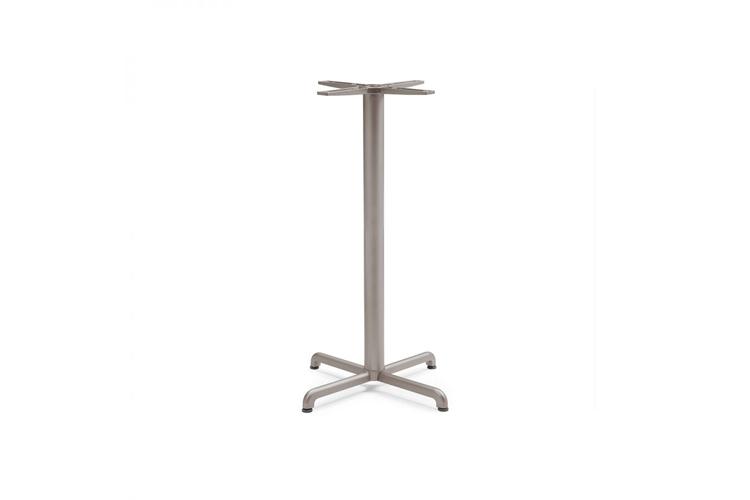 Pie mesa hosteleria aluminio tortora Calice alta