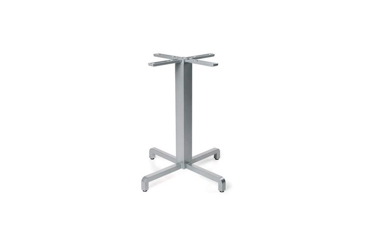 Pie mesa hosteleria aluminio plata Fiore