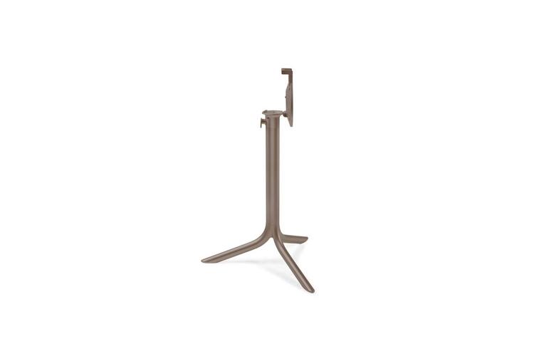 Pie mesa hosteleria aluminio tortora Flute