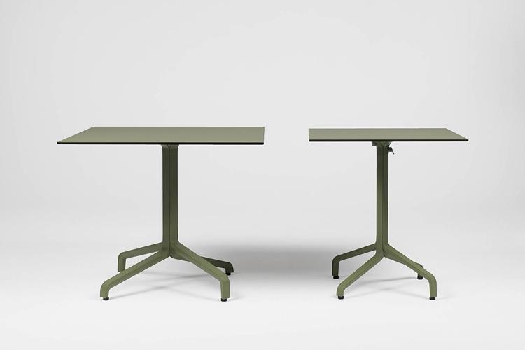 Pie mesa hosteleria aluminio Frasca maxi ambiente