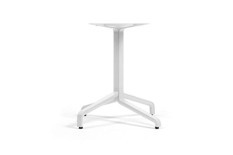Pie mesa hosteleria aluminio blanco Frasca maxi