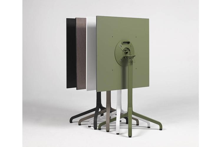 Pie mesa hosteleria aluminio Frasca mini ambiente