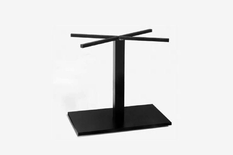 Pie mesa hosteleria acero negro Aries