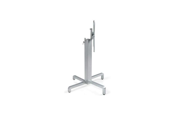 Pie mesa hosteleria aluminio plata Ibisco