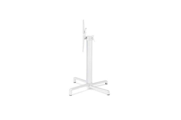 Pie mesa hosteleria aluminio blanco Scudo