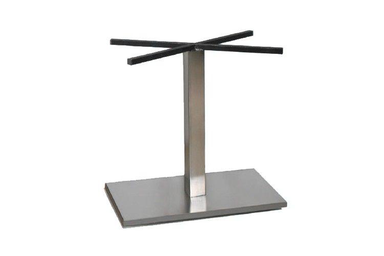 Pie de mesa para hosteleria Gino acero inoxidable alto