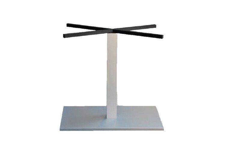 Pie mesa hosteleria aluminio rectangular Tauro