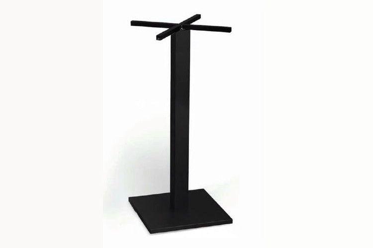 Pie mesa hosteleria aluminio negroTauro