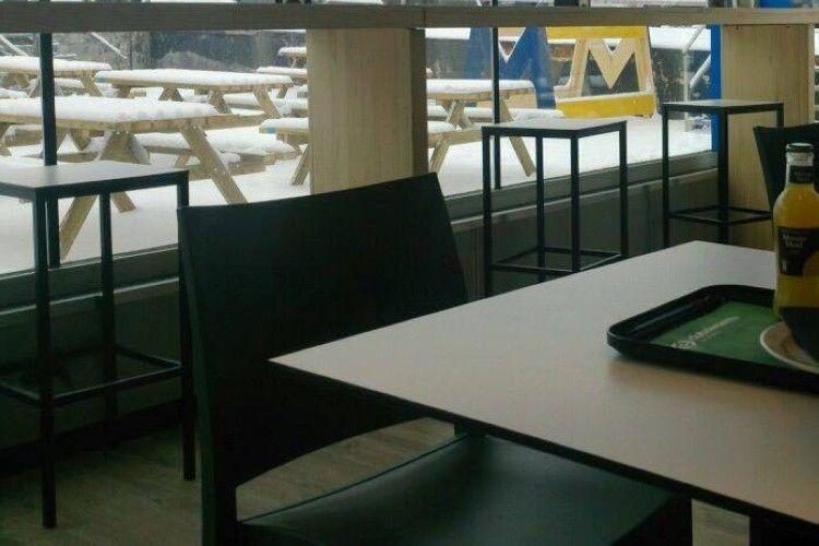 detalle mobiliario cafeteria