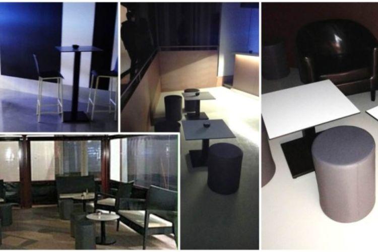 Mobiliario Drink House Bar montaje
