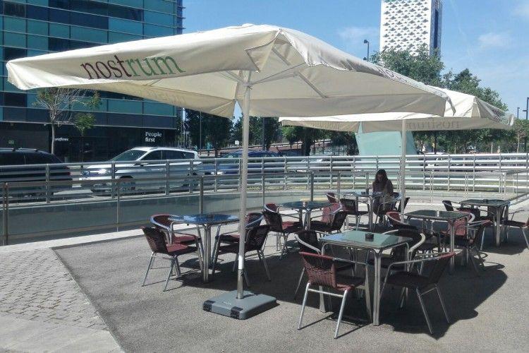parasoles terraza barcelona