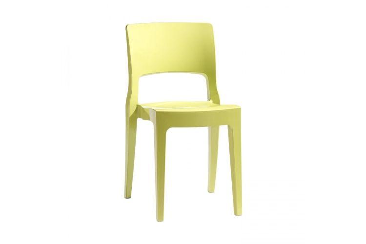 Silla de diseño amarillo Isy