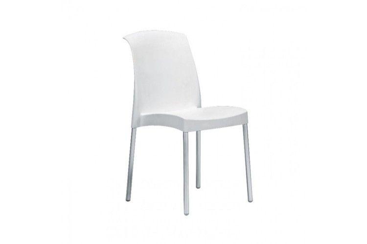 Silla de diseño blanca jenny