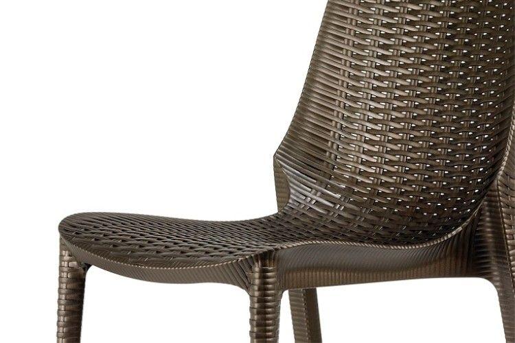 Silla de diseño bronce lucrezia