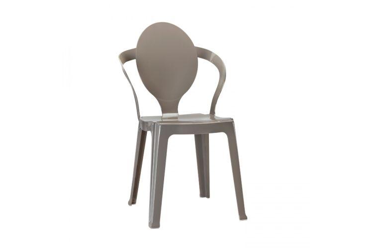 Silla de diseño gris spoon