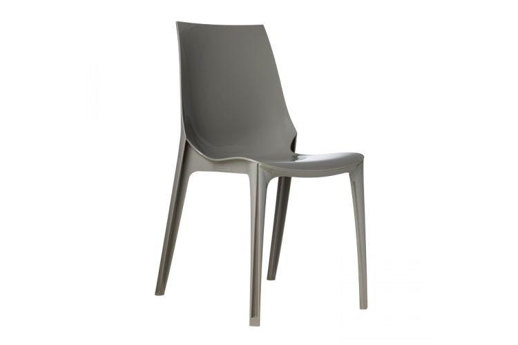 Silla de diseño gris Vanity