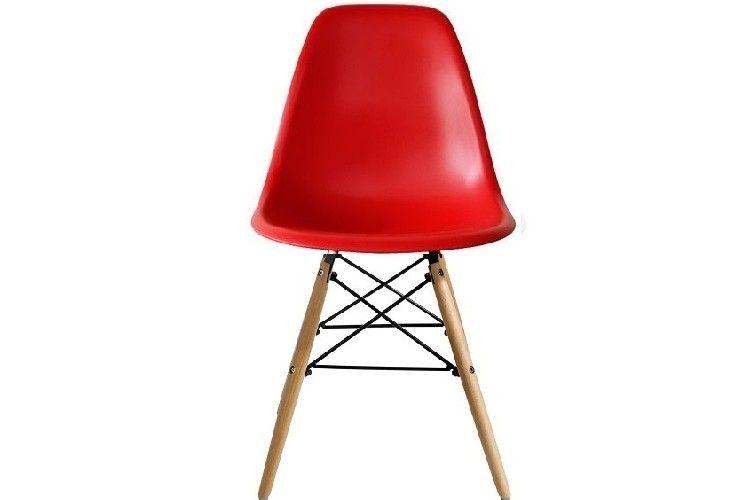 Silla de diseño roja torre eiffel