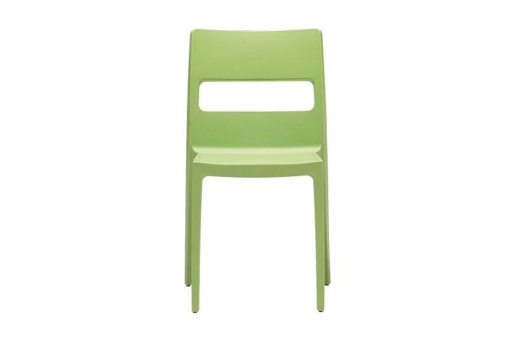 Silla de diseño verde sia