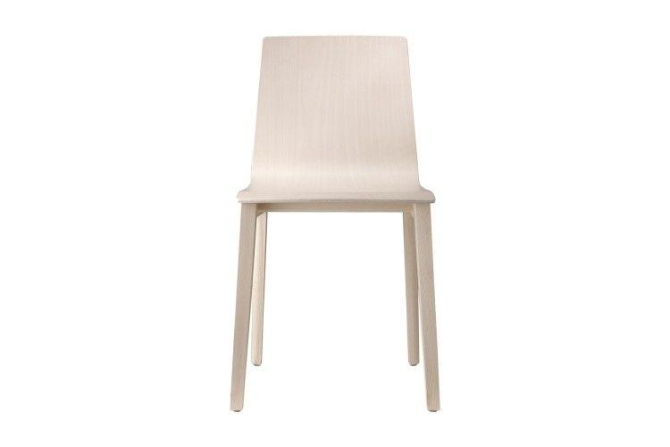 silla de madera hosteleria Smilla haya