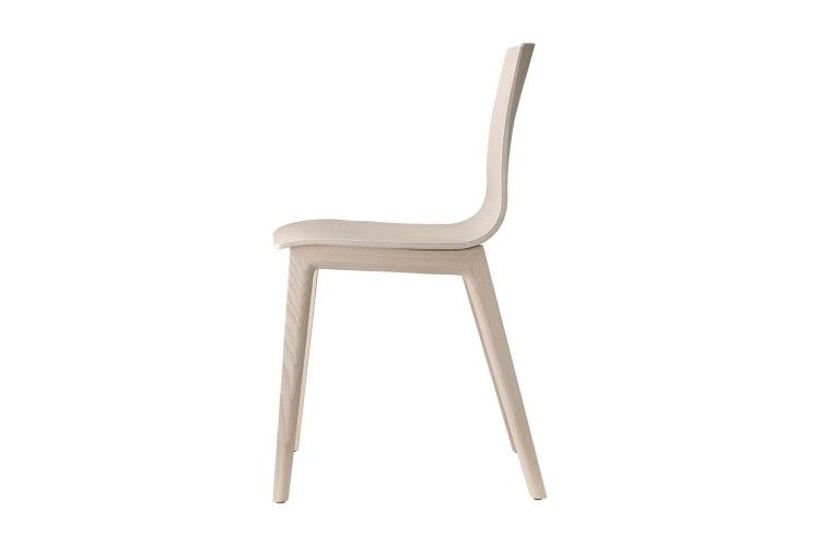 silla de madera hosteleria Smilla haya lateral 2