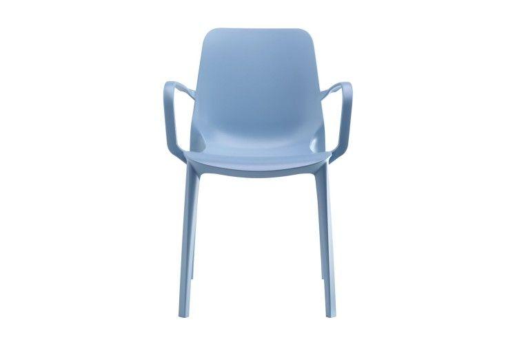 silla hosteleria Ginevra Arms azul