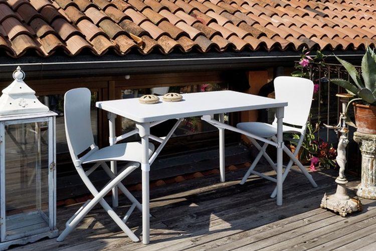 Silla plegable ZAC CLASSIC terraza