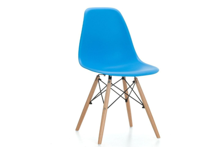 Silla de diseño azul torre eiffel