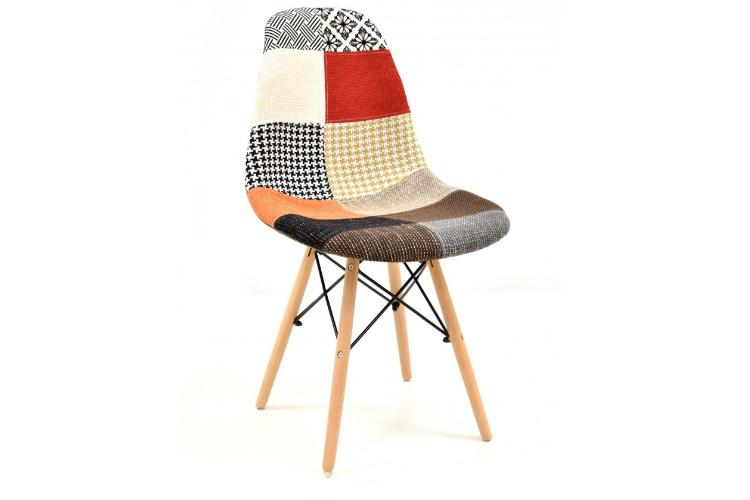 Silla de diseño patchwork color torre eiffel