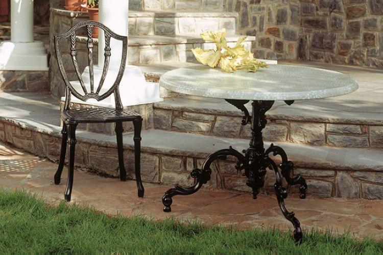 Silla vintage forja Gales jardin