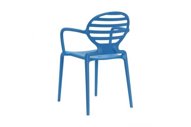 Sillón de diseño azul Cokka