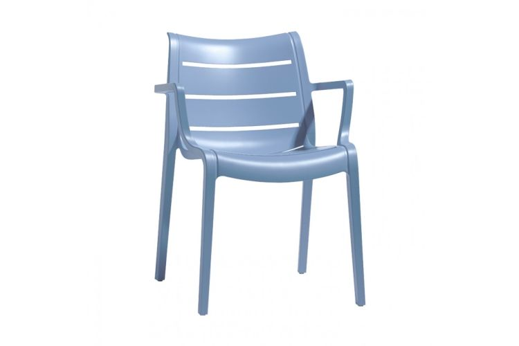 Sillón de diseño azul suset