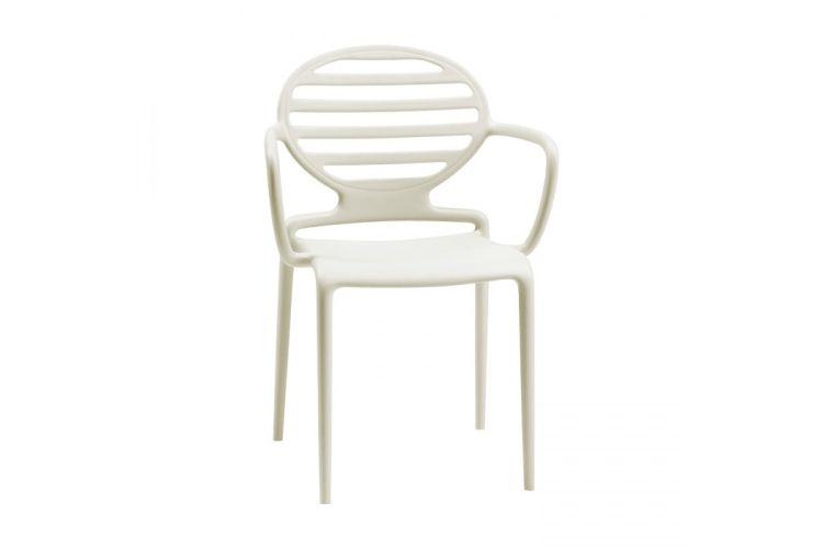 Sillón de diseño blanca Cokka