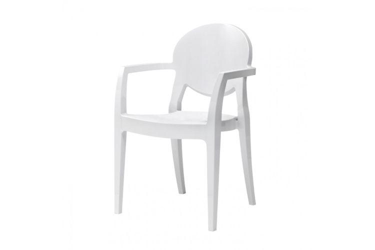 Sillón de diseño blanco Igloo