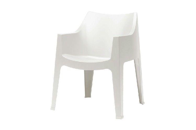 Sillón de diseño Coccolona blanca