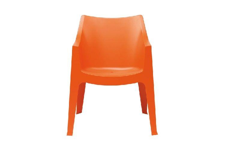 Sillón de diseño Coccolona naranja